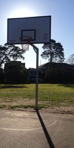 Burnley Park basketball court
