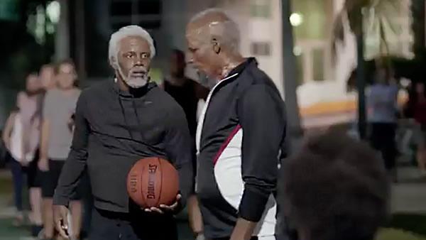 The comeback basketballer