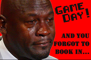 Did you forget to book in your basketball games?