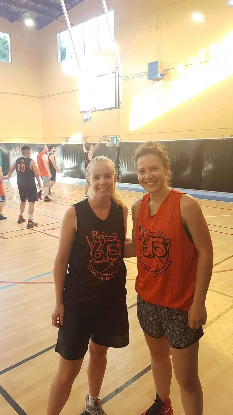 Women's social basketball