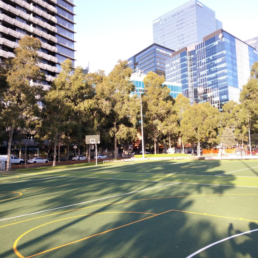 Docklands sports courts