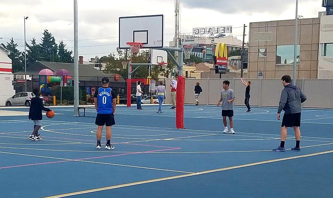 Richmond basketball courts