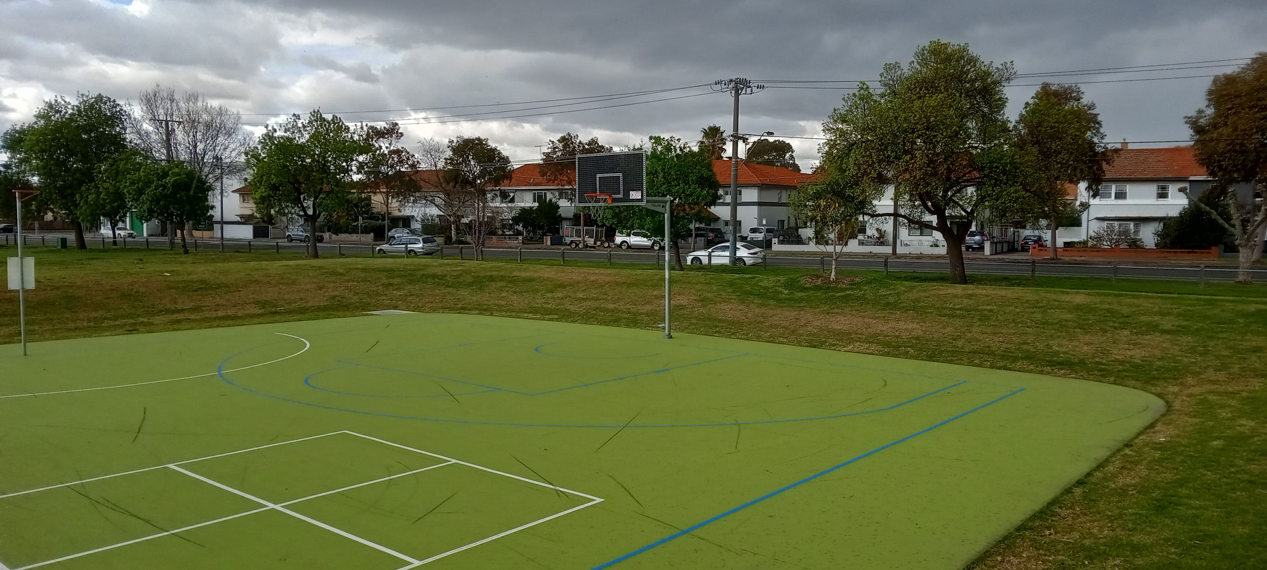 Outdoor basketball court 1